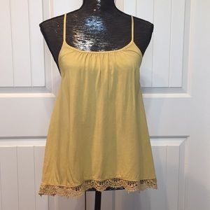Altar'd State Mustard Yellow Tank Top Size XS